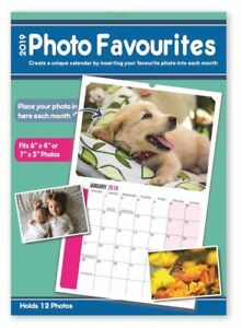 PERSONALISE Your Calendar 2019 with Your Own Photos Each Month Calender New Year 5012128515118