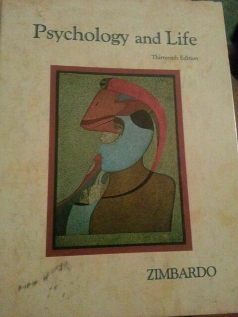 Study Guide and Practice Tests to Accompany Zimbardo's Psychology and Life by Zi