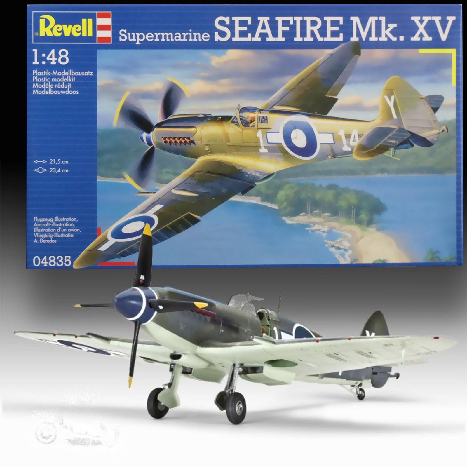 REVELL 1 48 SUPERMARINE SEAFIRE F MkXV KIT