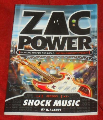 1 of 1 - Zac Power -  Mission: Shock Music ch sc 0413