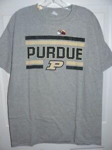 NCAA Purdue Boilermakers Adult School Name Over Logo Choice Tee XX-Large Black