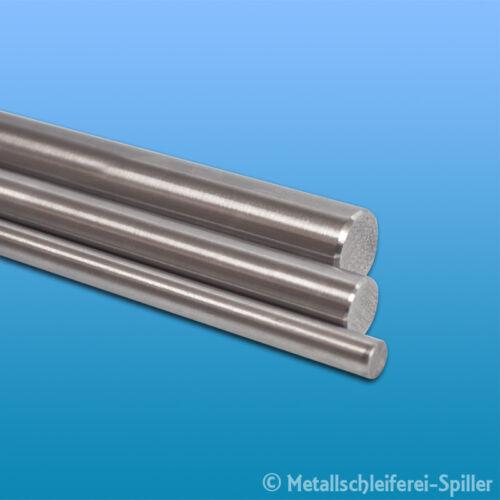 Edelstahl Rundstahl 10mm L 300-1800 mm geschliffen Stab Welle 1.4301 V2A