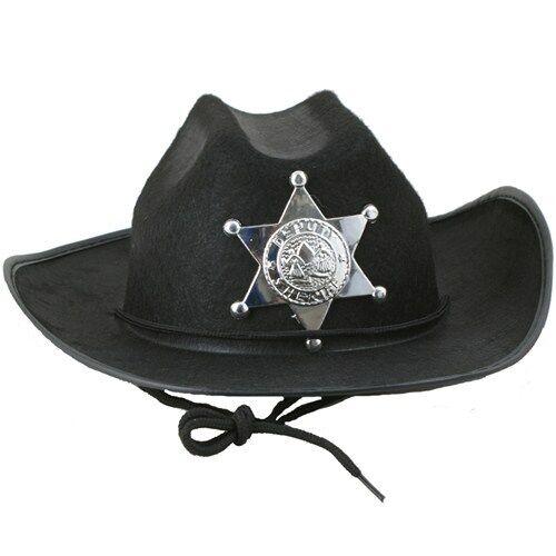 Peterkin-SPECIALE Sceriffo Cowboy cappello di feltro-Nuovo di Zecca