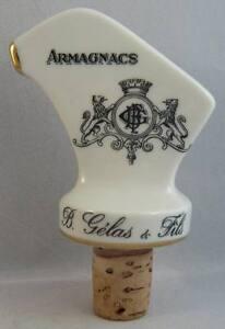 Bouchon Porcelaine Bec Verseur Armagnac Gélas & Fils Pourer Schnapsnase P6bqgi2o-07221304-270189998