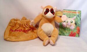 L-K-ON-SALE-NOW-CUTE-Slow-Loris-Stuffed-Animal-amp-Story-Booklet-PocketFuzzies