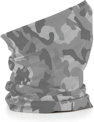 Beechfield Morf Original Face Protector//multi Wear Garment Arctic Camo