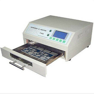 new T962 Infrared SMD BGA IC Heater Reflow Oven 18X23.5CM 800W