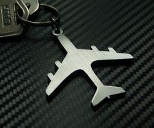 Aeroplane Plane Aircraft RAF Jet Fly Pilot Wings Keyring Keychain Key Fob Gift