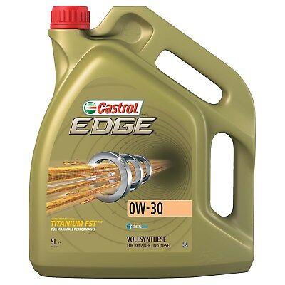 5 L LITER CASTROL EDGE TITANIUM FST™ 0W-30 MOTOR-ÖL MOTOREN-ÖL dexos2® 31437901