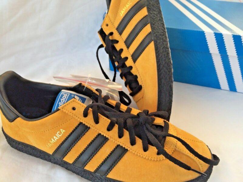 Adidas Jamaica Gold Black 8.5 Uk 9 Us New In Box
