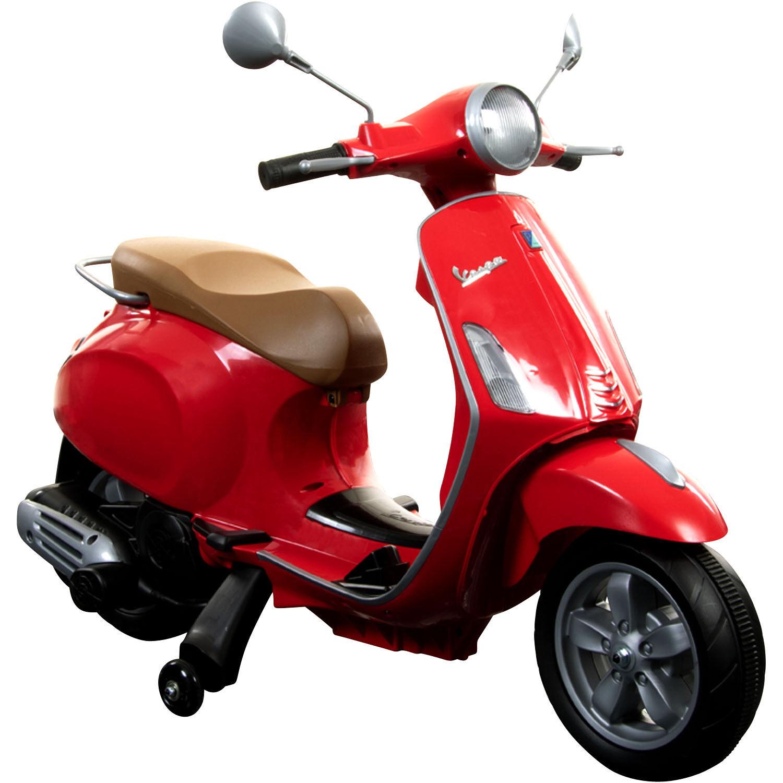 Kinderfahrzeug Vespa Primavera 6V Kinder Scooter Piaggio Elektro ab 3 Jahre