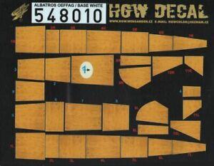 HGW 1/48 Albatros D.III Oeffag Base Blanco #548010