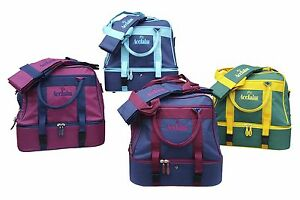 ACCLAIM Barnard Mini Double Decker Two Tier Bowling Flat Green Bowling Bowls Bag