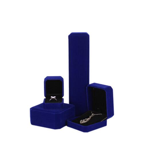 Velvet Pad Case Gift Jewelry Storage Necklace//Bracelet//Ring//Pendant Box Display