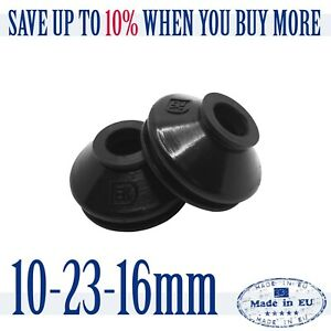 2-X-UNIVERSAL-High-Quality-Rubber-10-23-16-Track-Rod-End-amp-Ball-Joint-Dust-Boots
