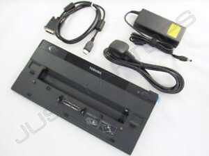 Neu Toshiba Portege R700-S1322 USB 3.0 Dockingstation Port Replikator +90W PSU