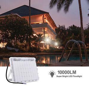 100W-6500K-LED-Lampe-Floodlight-Projecteur-Eclairage-Lumiere-Jardin-Exterieur