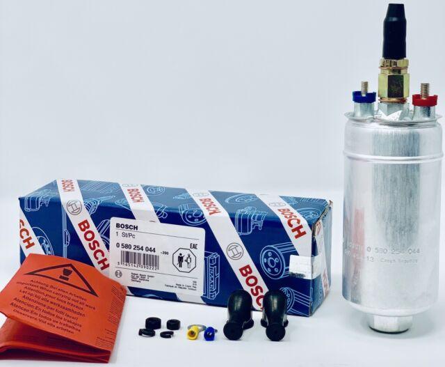 NEW Genuine BOSCH 044 Racing External Fuel Booster Gas Pump 0580254044 Universal