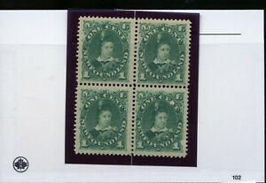 NEWFOUNDLAND-45-Edward-Prince-of-Wales-Mint-Block-W30