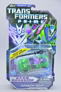 Transformers Prime Dark Energon Knock Out Complete Deluxe