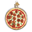 thumbnail 1 - Old-World-Christmas-PIZZA-PIE-32350-N-Glass-Ornament-w-OWC-Box