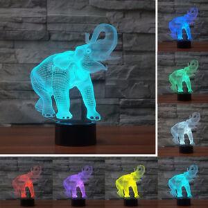 3D-LED-Illusion-Novelty-Lights-Elephant-Pattern-Table-Lamp-7-Colors-USB-lamp