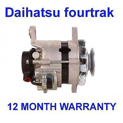 Daihatsu fourtrak wildcat//rocky 2.8 TD 1984 1985 1986-1997 alternator