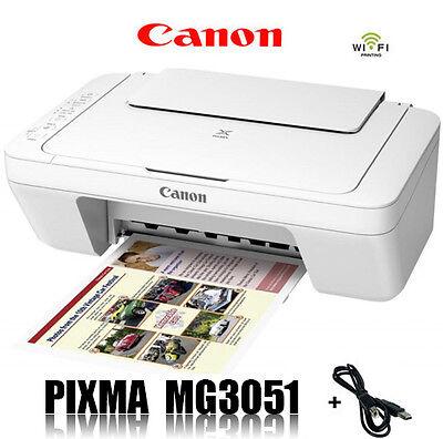 CANON PIXMA MG3051 MULTIFUNKTIONS DRUCKER SCANNER KOPIERER WLAN * B-Ware *