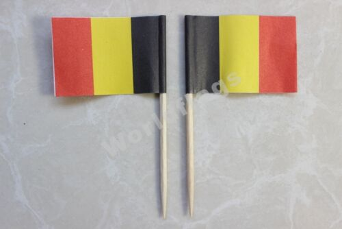 Toothpick Flag 100pcs US UK Germany France Italy Korea Spain LGBT Rainbow Pirate