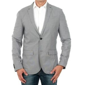 Jack-amp-Jones-Hombre-Chaqueta-americana-blazer-Gris-13099