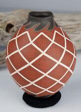 Mata Ortiz Pottery Trini Silveira Precision Geometrics Mexican Clay Ceramic Art