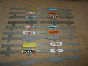 10 Vintage Matchbox Power Track Crash Barriers-afficher Le Titre D'origine