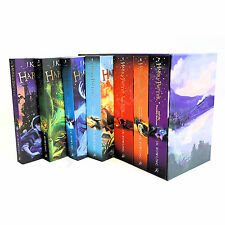 Harry Potter The Complete Collection 7 Books Set Paperback Box Set J.K Rowling