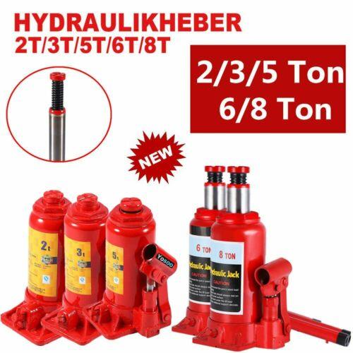Stempelwagenheber Hydraulisch 2//3//5//6//8 Tonnen Wagenheber Stempelheber Profi B