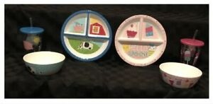 Kids-6-Piece-Mealtime-Set-New-without-Tags