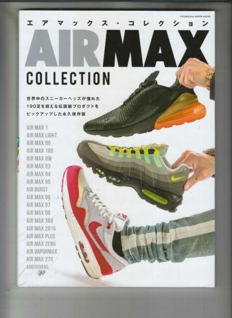 Realizable artillería cortar a tajos  Airmax Collection Japanese Book Nike Air Max Vintage Fashion Sneaker 2018  for sale online | eBay