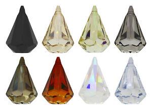 1b1055f4c0965 Details about Genuine SWAROVSKI 6022 XIRIUS Raindrop Crystals Pendants *  Many Sizes & Colors