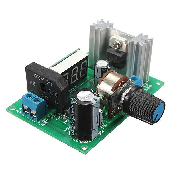 New LM317 Adjustable Voltage Regulator Step-down Power Supply Module LED Meter