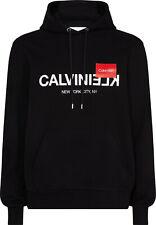 Calvin Klein Herren Heavyweight Knits TEXT REVERSE LOGO HO NEU & OVP