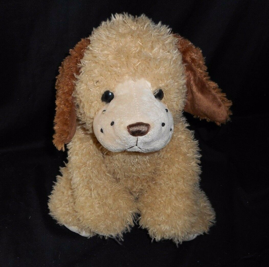 16  GANZ BIG BROWN TAN BUDDY BABY PUPPY DOG PUP BEANS STUFFED ANIMAL PLUSH TOY