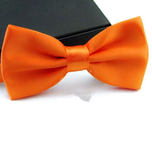 Classic Men Satin Bowtie Necktie Bow Tie Wedding Tuxedo Party Fashion Adjustable