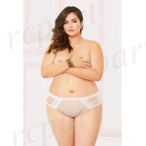 4f3b91828 New Sexy women intimates gift lingerie net open panty 1X 2X 3X 4X ...