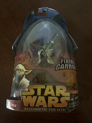 Hasbro Star Wars Revenge Of The Sith Yoda Spinning Attack Action Figure 76930852750 Ebay