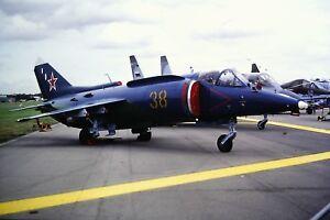 4-418-2-Yakovlev-Yak-38-Forger-Russian-Air-Force-38-Kodachrome-Slide