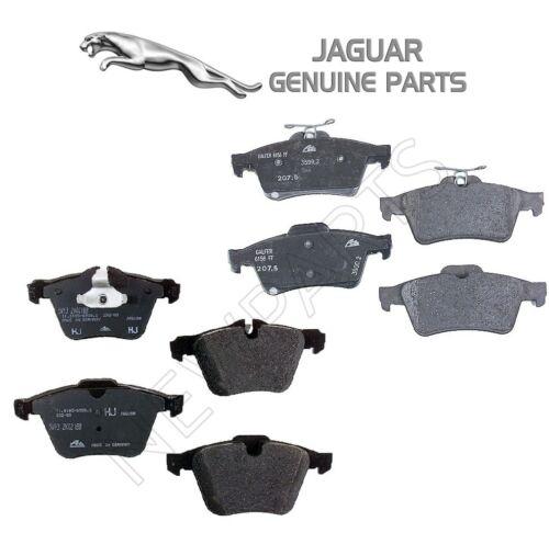 For Jaguar S-Type XF XJR Pair Set of Front /& Rear Disc Brake Pads Genuine