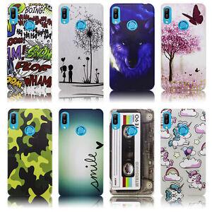 Huawei-Y7-2019-Huelle-Silikon-Smartphone-Handy-Huelle-Schutz-Huelle-Case-Cover