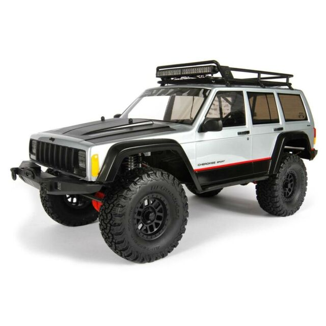 Axial 2000 Jeep Cherokee .040 Clear Body-AXI31337