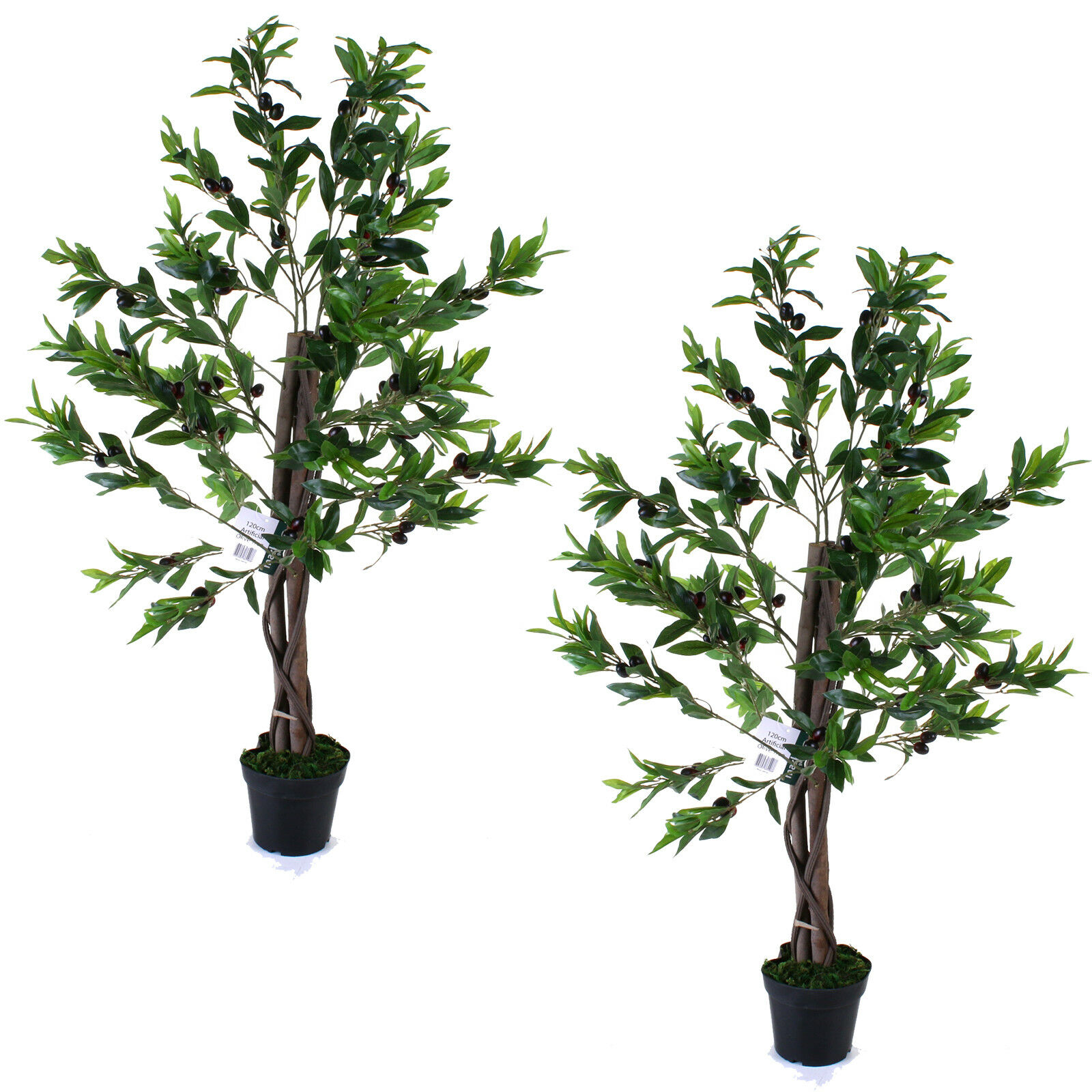 ARTIFICIAL OLIVE TREE PLANT HOME OFFICE DECOR TOPIARY REALISTIC WEDDING120CM