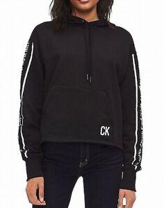 Calvin-Klein-Women-039-s-Activewear-Jacket-Black-Size-XS-Hoodie-Pullover-70-460