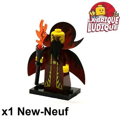 Lego Figurine Minifig Minifigurine série 13 femme cyclope lady cyclops NEUF